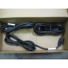 Alcatel - 120129-10 - Lot of 3 Prong Power Cable 6Ft CORD US 11OVAC 15A 2M BLACK